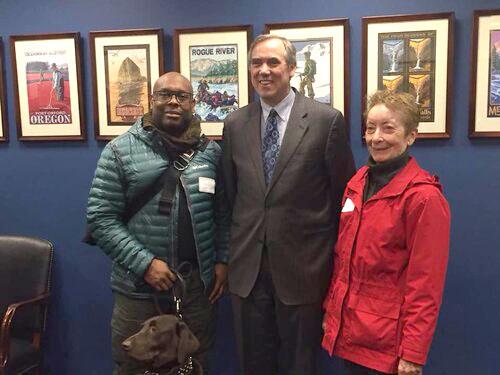 Photo with Senator Merkley (OR)